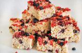 Berry rijst Krispie behandelt
