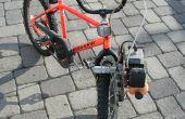 Hoe Strap een Leaf Blower motor aan een fiets en ga snel
