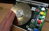 HDDJ: Het draaien van een oude harde schijf in een roterende invoerapparaat