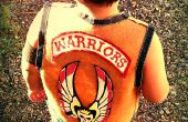 """The WARRIORS"" Vest (geen naaien)"