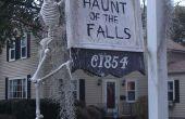 Familie vriendelijke Halloween Display
