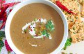 Shiitake paddestoel soep