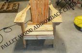 Adirondack stoel van het hout van de Pallet