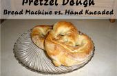 Krakeling deeg - brood Machine vs Hand gekneed