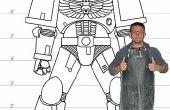 Bouwen van levensgrote Space Marine Armor in 352 vreselijk ingewikkeld stappen