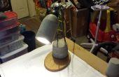Beton bureaulamp