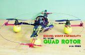 Video functionaliteit toevoegen aan uw Quad Rotor kostenloos