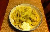 Pelmeni (Russische vlees dumplings)