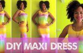 DIY regenboog jurk in 15min