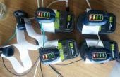 Powertool accu's te gebruiken als een generieke voeding voor andere projecten
