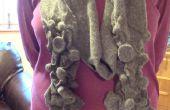 Beïnvloedbare vervilte wol sjaal