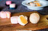 Huid Mooncake met Chinese vla ijs