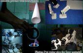 Hoe om de pvc waterleiding voor het maken van een stuff, handmatige proces door plat gebrand
