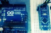 Arduino Nano via Uno met ICSP Program