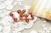 DIY Entwine Wire Wrapped ringen voor vrouwen