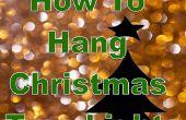 De kunst van verlichting een kerstboom: verticale vs. horizontale