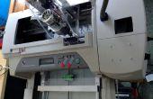 CNC Machine van Inkjet Printer