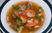 Hot And Sour Soup perfect voor de Winter