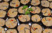 Rundvlees Bites (Mock Sushi)