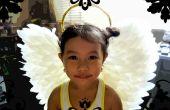 Engel vleugels voor kostuum