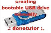 Hoe maak je een Bootable USB-Drive zonder gebruik te maken van Software