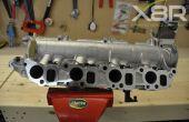 Vauxhall CDTI SAAB TID Alfa Romeo MultiJet Inlaat Spruitstuk Swirl Flap Rod repareren 1.9 150BHP Diesel Fix Install montage instructies