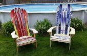 Adirondack Ski stoel