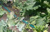 Veggie tuin Soaker slang irrigatie