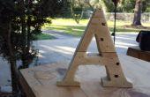 Pallet hout Letters