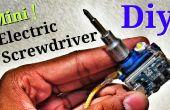 """Mini elektrische schroevendraaier Tool in een sleutelhanger! -""""'S werelds kleinste elektrische schroevendraaier"""""""