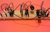 Twee circuits van geschakelde voeding op basis van de 555 timer