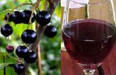 Kreken van zwarte wijn - DIY recept