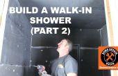 How to Build een Walk-In douche (deel 2: Wedi muur installatie)