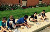Kinderen zonne-zonneboiler
