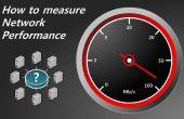 Hoe te meten van de prestaties van het netwerk