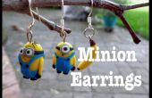 Minion oorbellen