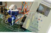 IoT: Raspberry Pi Robot met Video Streamer en Pan/Tilt camera afstandsbediening via internet