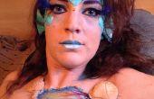 Zeemeermin Halloween Make-up