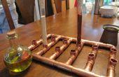 Steampunk kruidenrek