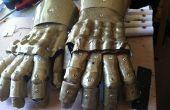 Vrij gemakkelijk armor handschoenen uit thermoplastische