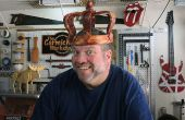 Een houten kroon uit een logboek maken