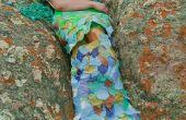 Maak een zeemeermin kostuum uit oude rommel