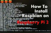 Hoe te installeren en configureren van Raspbian op Raspberry Pi 2 (Linux/windows/mac)