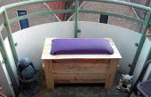 Wanda van all-weather verjaardag balkon Bank-box (gemaakt van pallets)