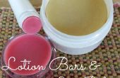 DIY Lotion Bars & lippenbalsem!