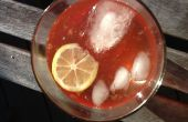 Pink cherry limonade