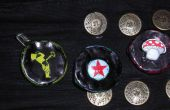 Bootle Cap (& kan ring) DIY pin