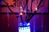 LightedDIY bruiloft: Crystal Manazanita (willen) bruiloft boom