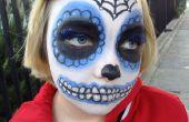 Suiker schedel make-up