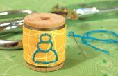 Borduurwerk 101: Terug Stitch